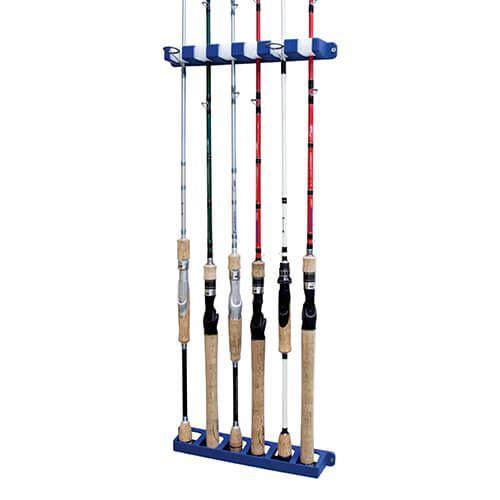 Suporte para Vara Rod Rack Capacidade 6un