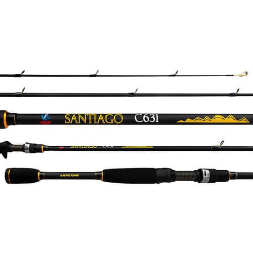 Vara Albatroz Fishing Santiago C631 1,90M 6-14lb Carretilha