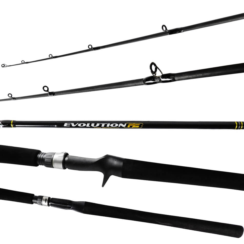 Vara Marine Sports Evolution G3 10-20lbs 1,98m Carretilha