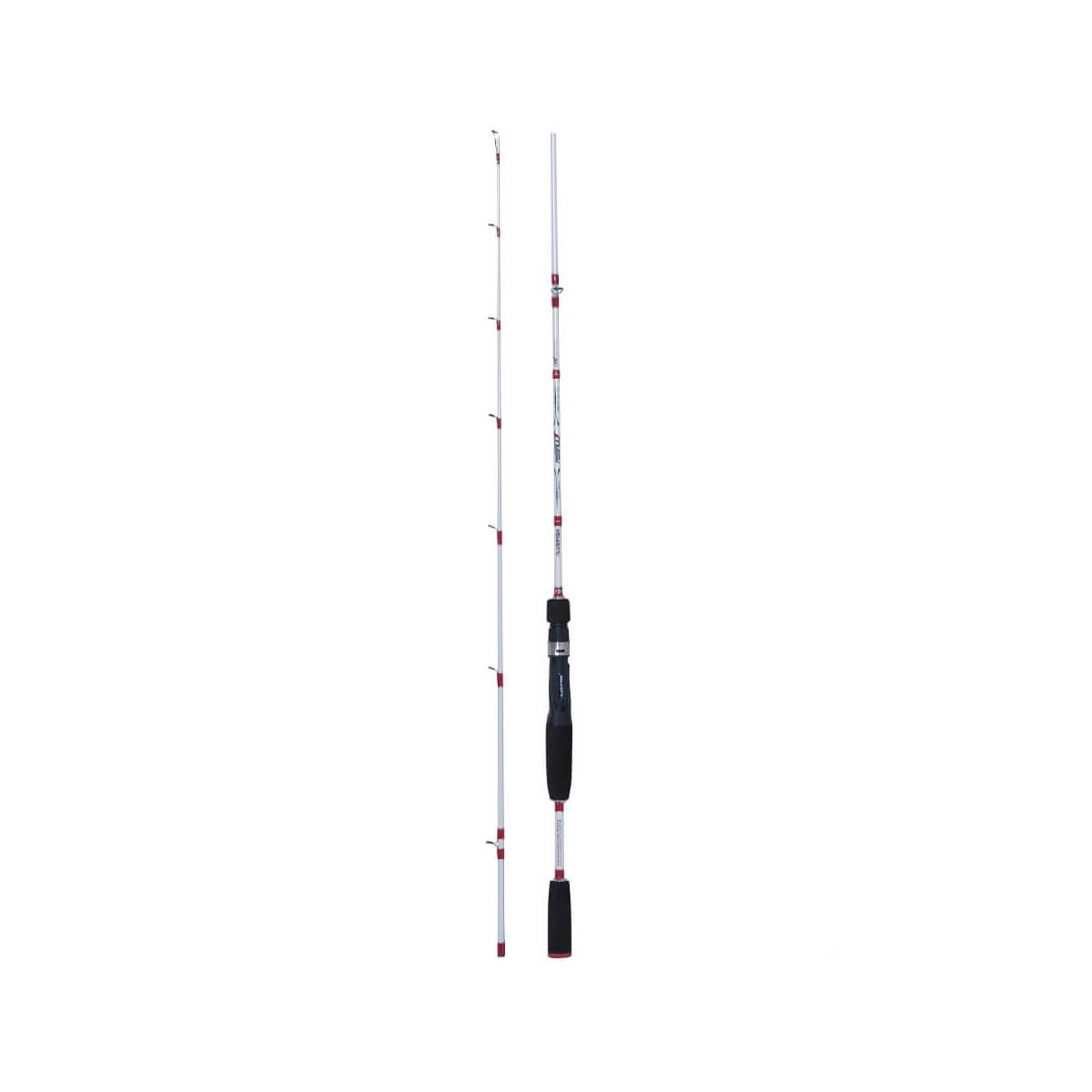 Vara Plusfish Assault 1,68m 8-17lb Carretilha 2 partes