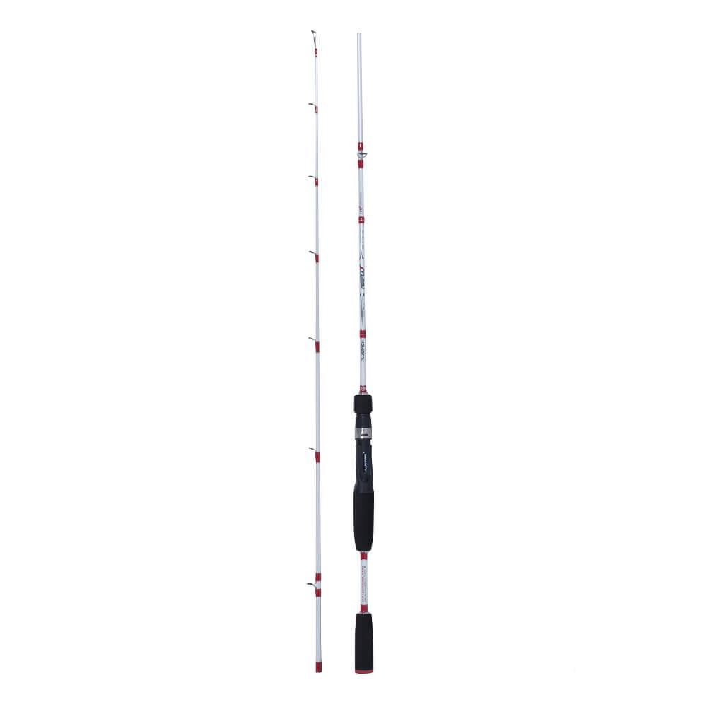 Vara Plusfish Assault 1,68m 8-17lb Molinete 2 Partes