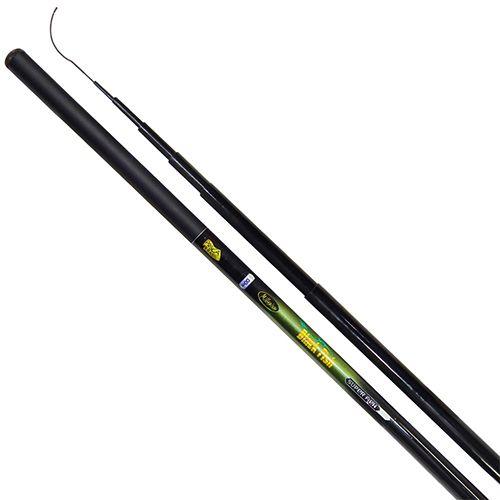 Vara Telescópica Pesca Brasil Black Fish 2,10m