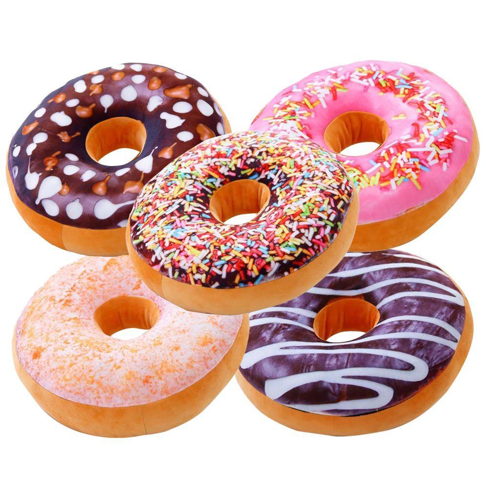 5 Almofadas Criativas Decorativas Magma Rosquinha Donut