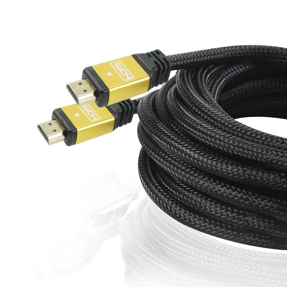 Cabo HDMI Mais Mania 10Mts Acabamento Metálico Full HD 4K  - Magma Br