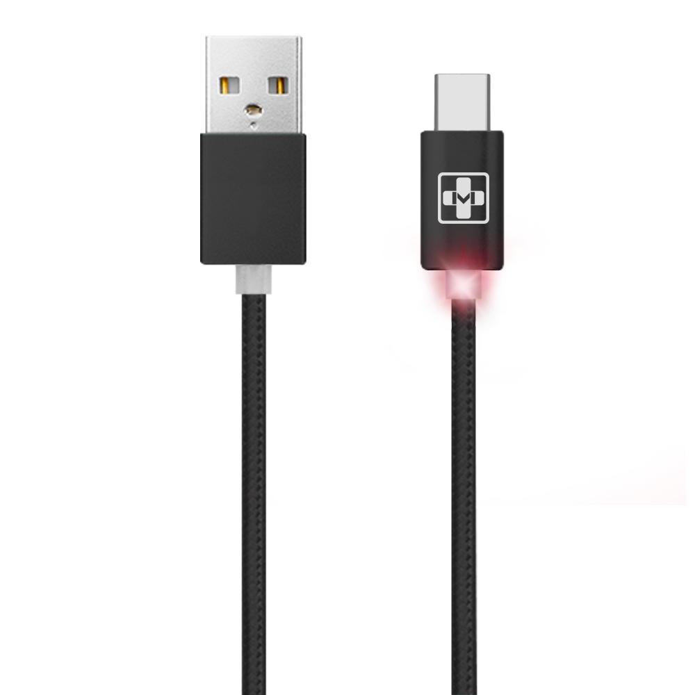 Cabo USB 2.0 Type-C LED Mais Mania
