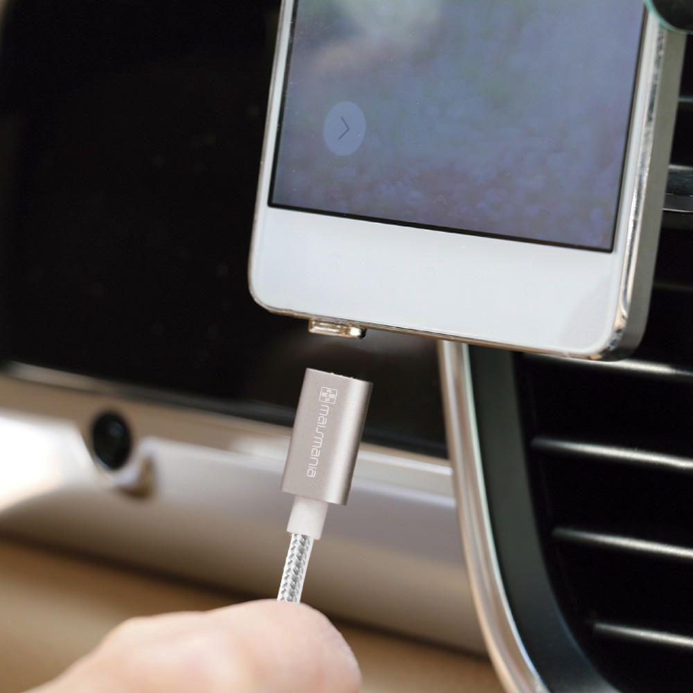 Cabo USB Magnético Mais Mania Micro USB 5P 2.4A  - Magma Br