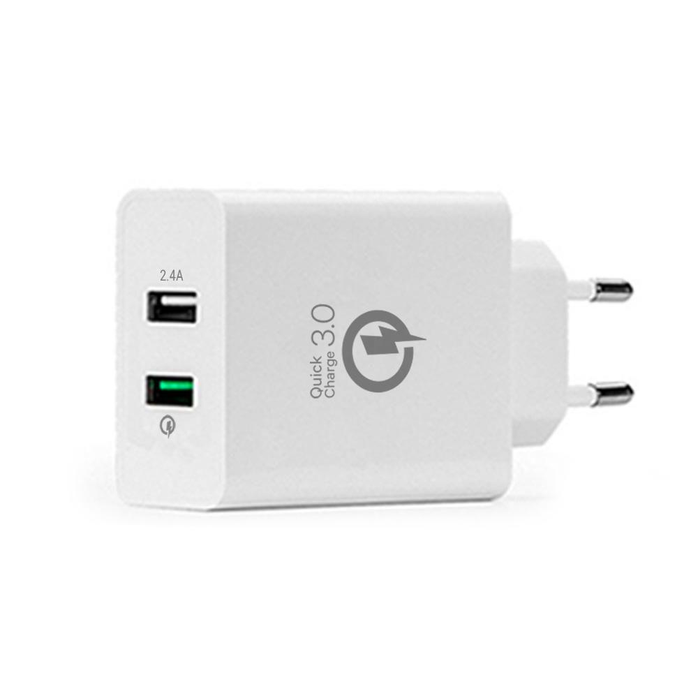 Carregador USB Qualcomm Mais Mania USB QC 3.0 Quick Charger