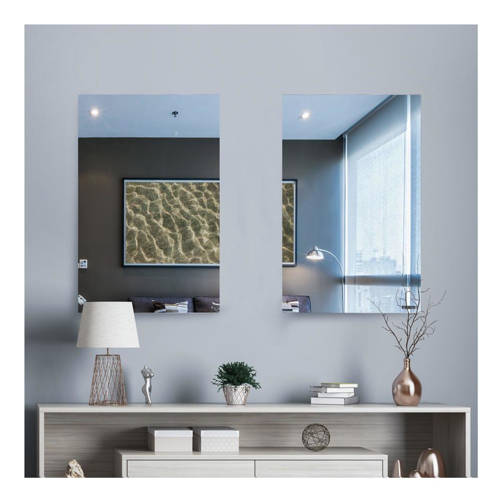 Espelho Mágico Decorativo 50x100 Flexível Adesivo Acrílico Pet