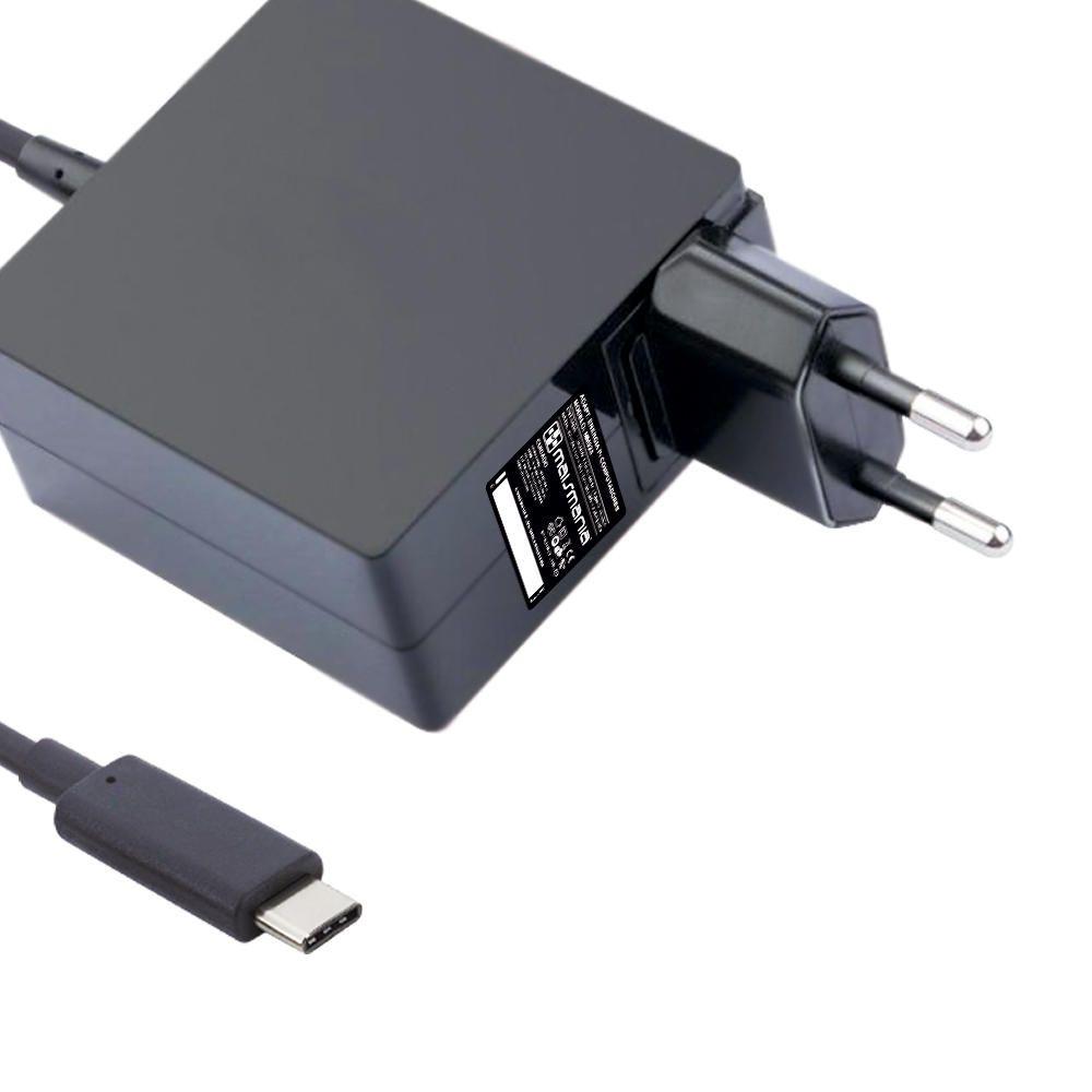 Fonte Carregador Mais Mania 5V/9V/12V/15V/20V USB Type-C  - Magma Br