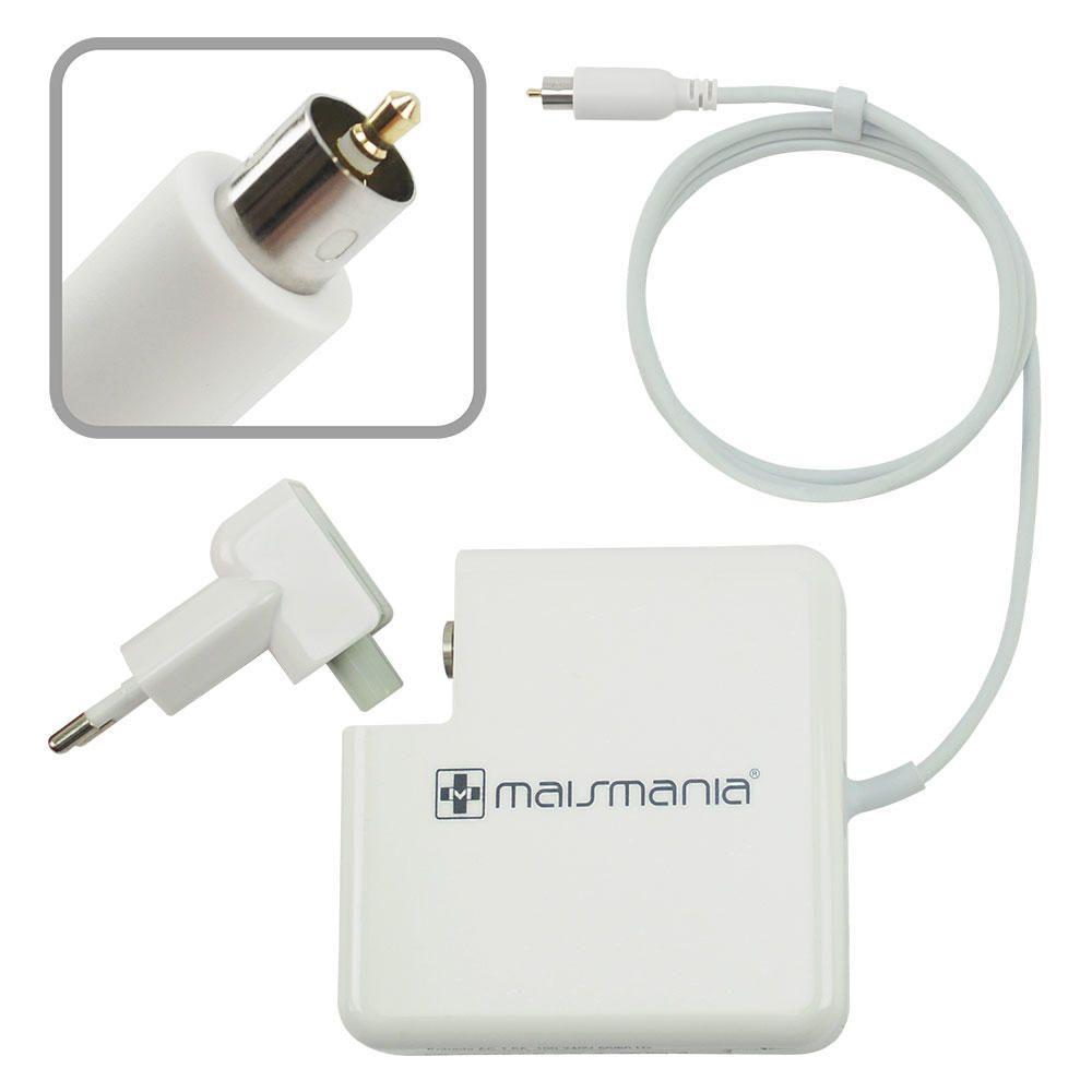 Fonte Carregador Mais Mania p Macbook Apple 24V 2.65A 65W