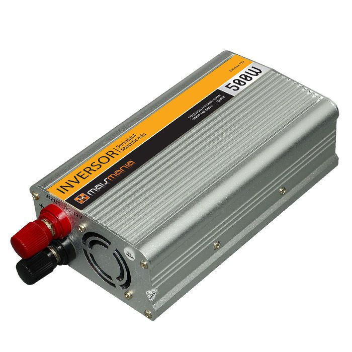 Inversor De Tensão Veicular Mais Mania 12V para 220V - 500W  - Magma Br