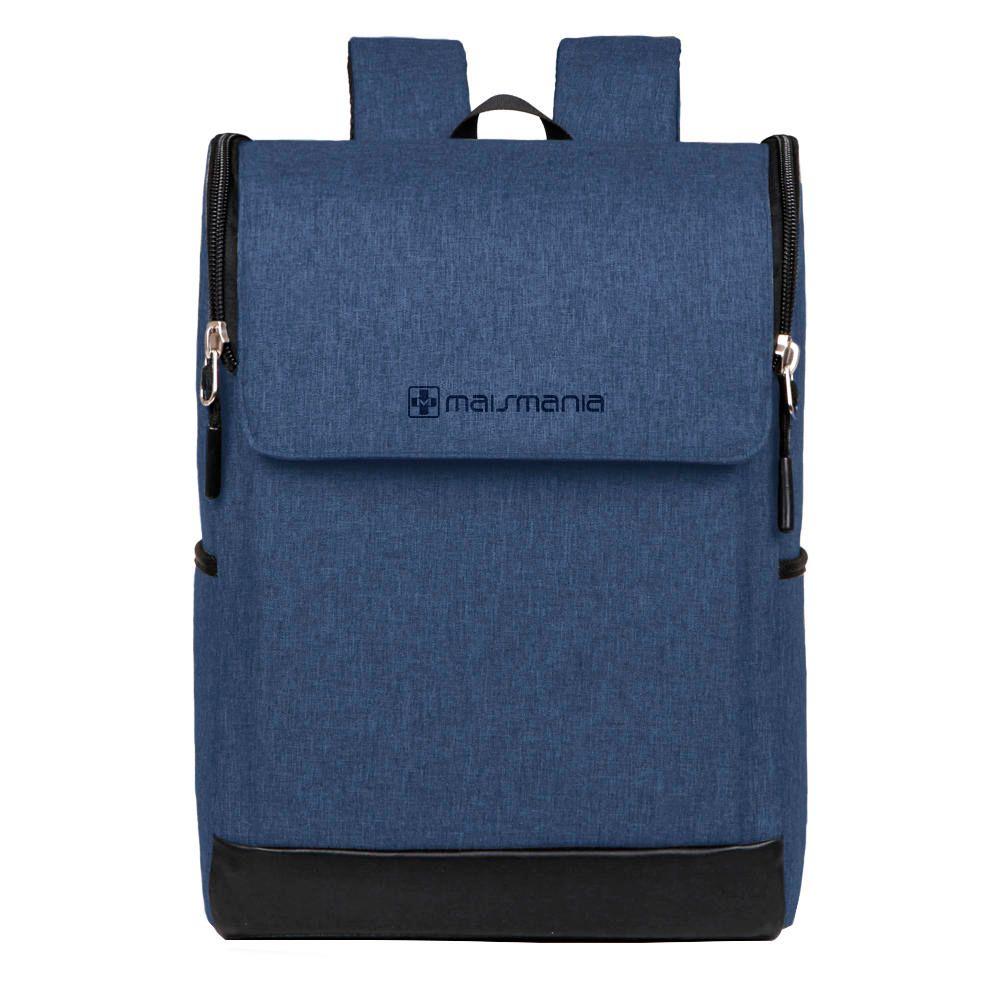 Mochila p Notebook Mais Mania Azul Design