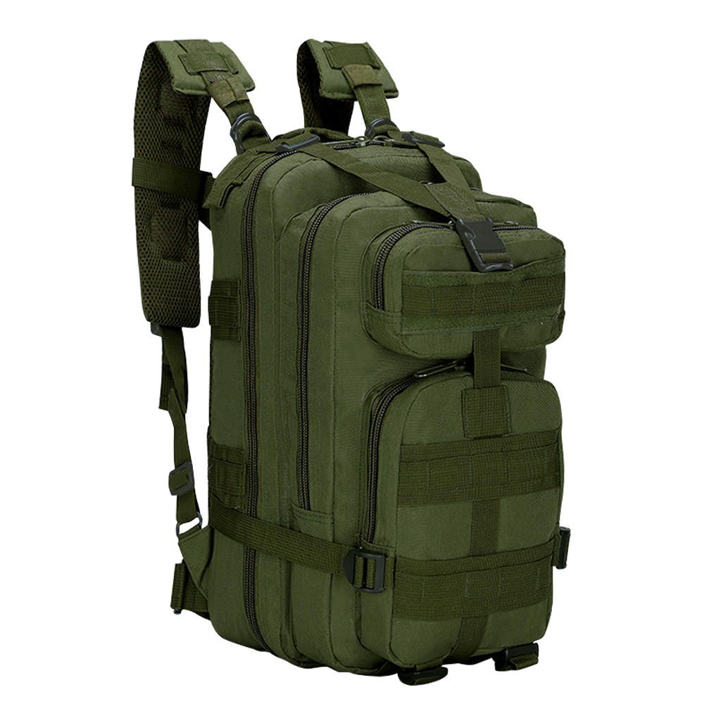 Mochila Tática Assault Militar MOLLE Trilha 30 Litros Verde