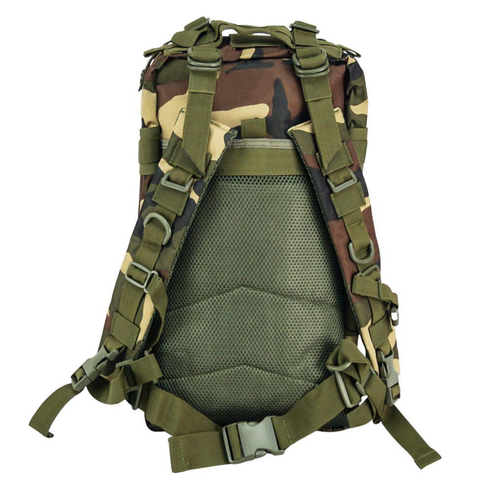 Mochila Tática Assault Militar MOLLE Trilha 30L Camuflada  - Magma Br