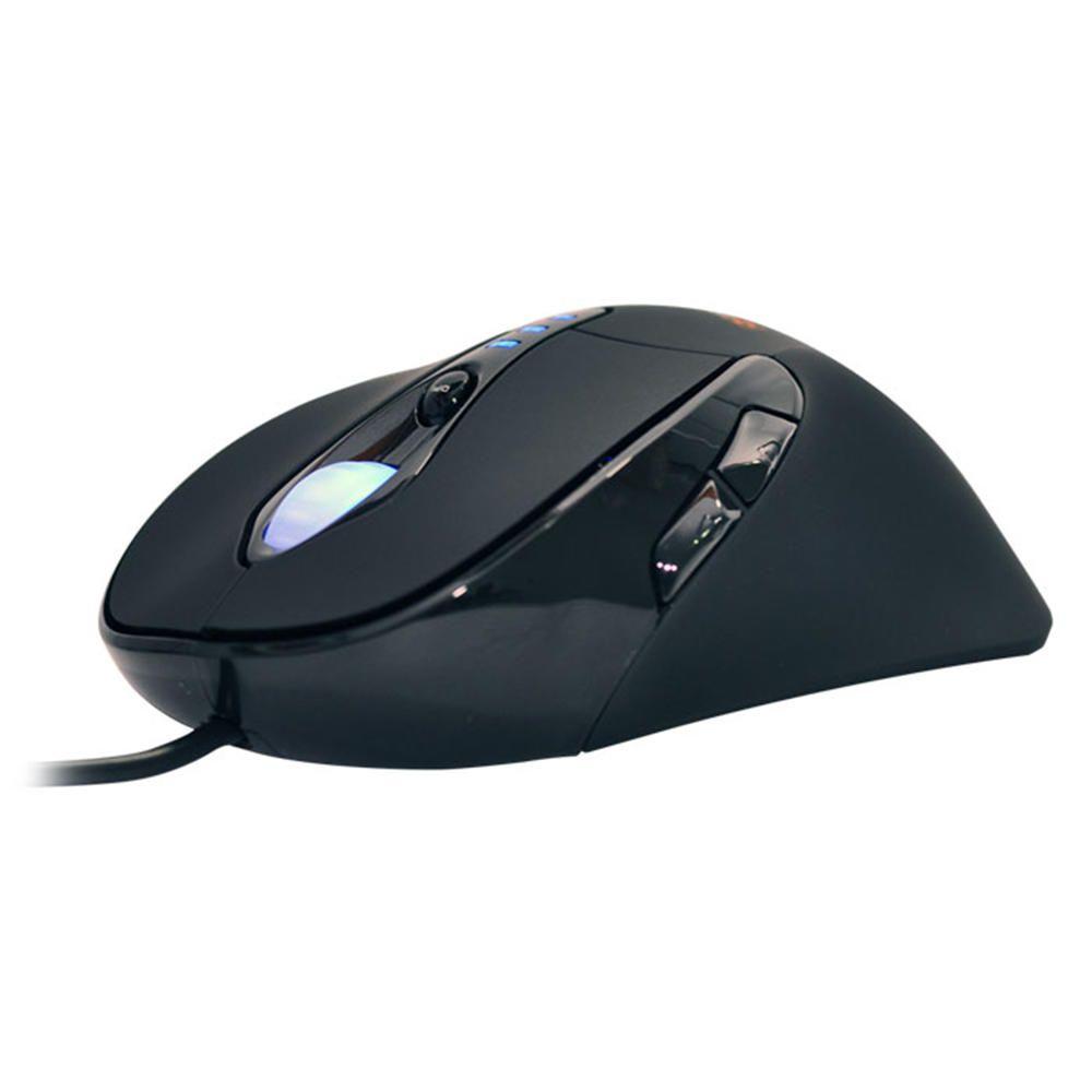 Mouse MaisMania Gamer Laser Optico USB MMX632 3400DPI 6 Bot  - Magma Br