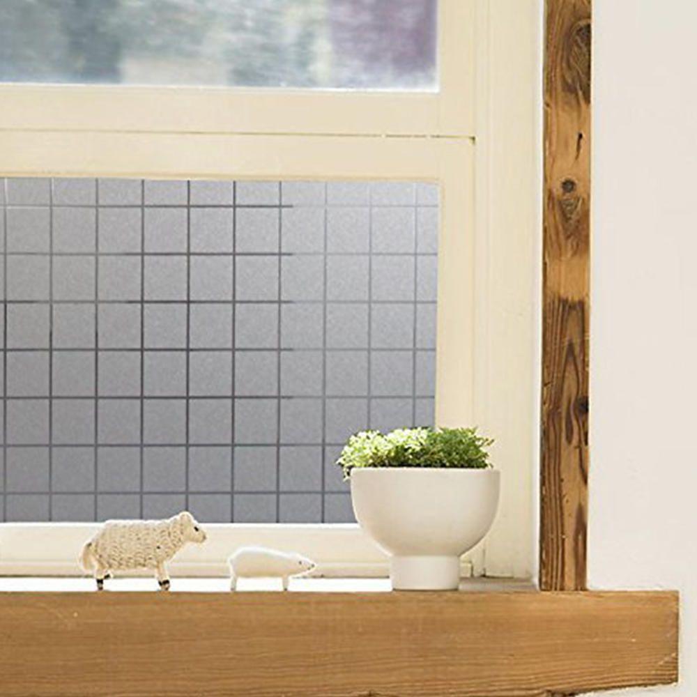 Película Adesivo Eletrostática Estática Vidro Quadrados