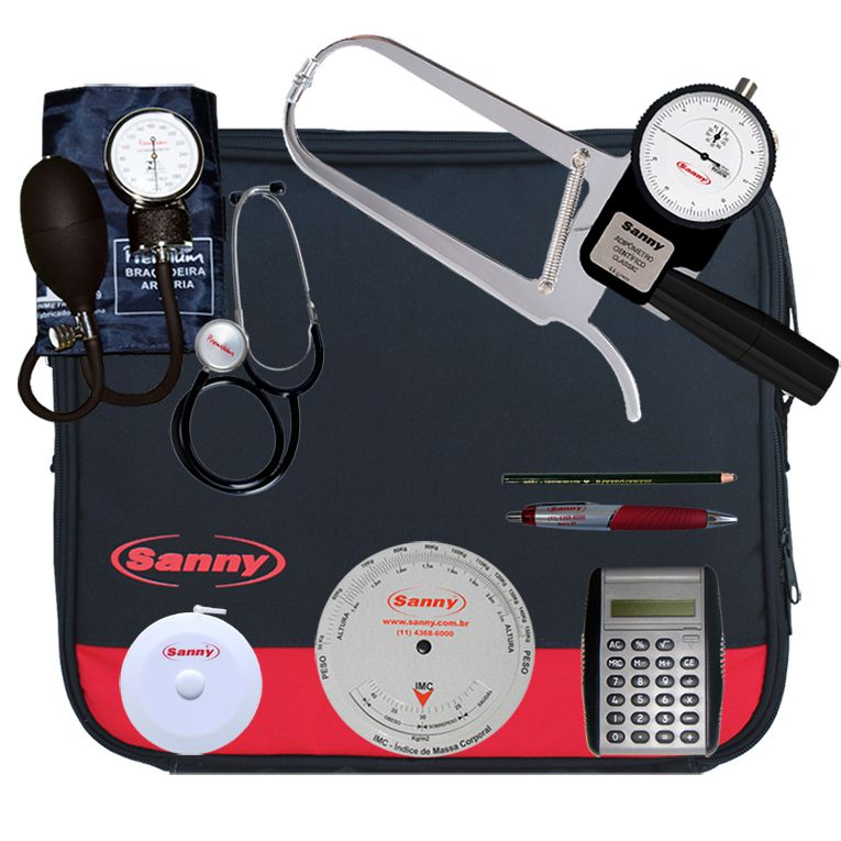 Kit Avaliação Física Classic Sanny - KS1013-CL