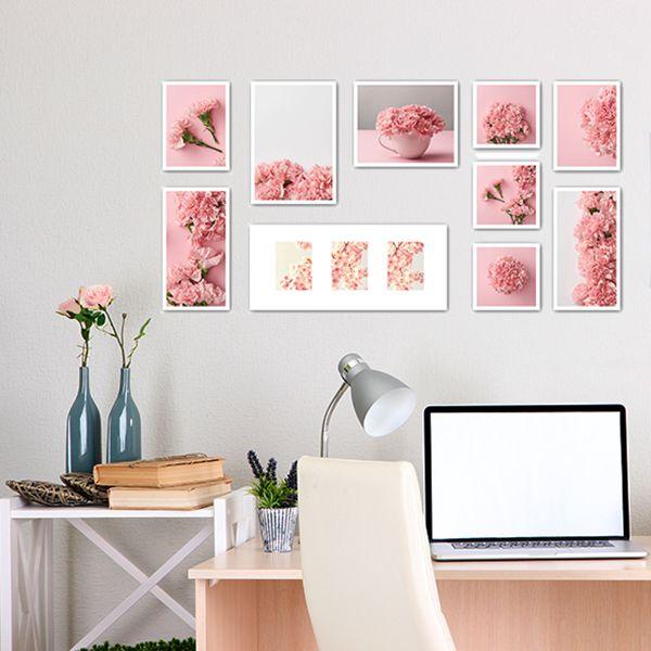 10 molduras COM Revelação Fotográfica (130cm X 60cm)