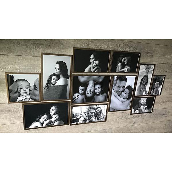 11 molduras COM Revelação Fotográfica  (175cm X 85cm)