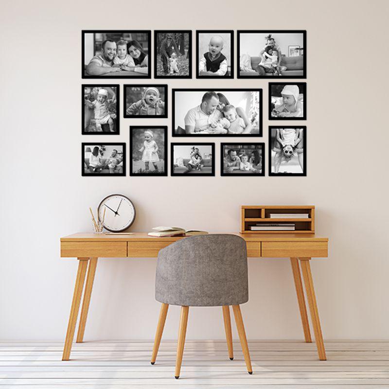 13 molduras com revelação fotográfica (110cm x 70cm)