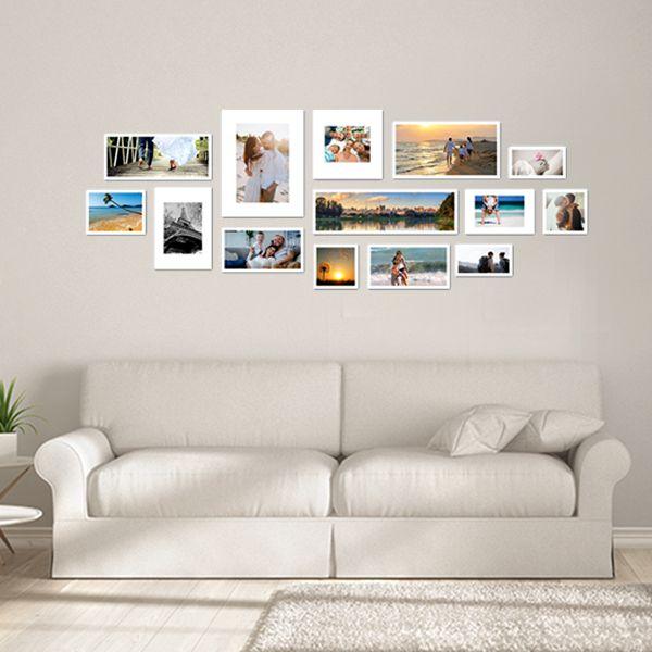 14 molduras COM Revelação Fotográfica  (200cm X 75cm)