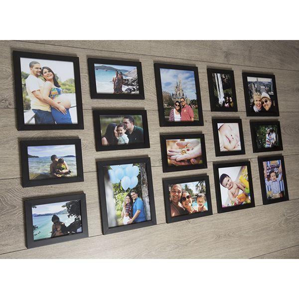 15 Molduras COM Revelação Fotográfica (125cm x 70cm)