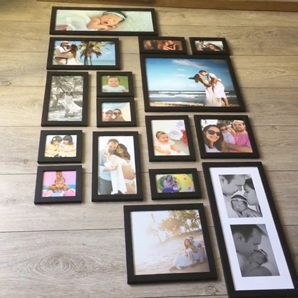 16 molduras  COM Revelação Fotográfica (80cm x 165cm)