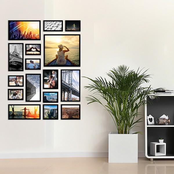 16 Molduras  COM revelação fotográfica (85cm X 115cm)