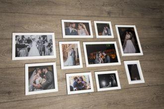10 Molduras COM Revelação Fotográfica (120cm x 65cm)
