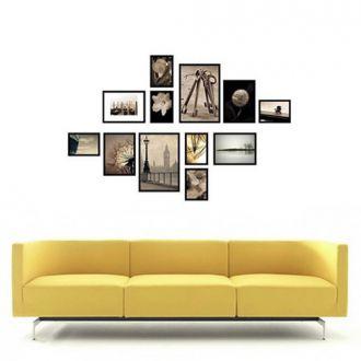 12 molduras  COM Revelação Fotográfica (160cm X 100cm)
