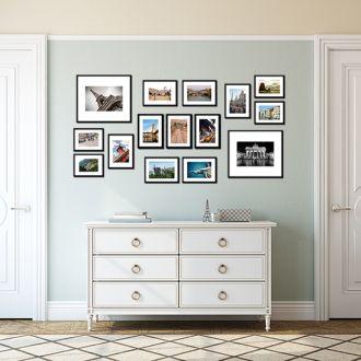 15 Molduras COM Revelação Fotográfica (150cm x 75cm)