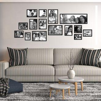 15 molduras COM revelação fotográfica (180cm X 70cm)