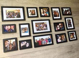 15 molduras COM Revelação Foto  (120cm X 60cm)