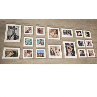 18 molduras COM Revelação Fotográfica (120cm X 40cm)
