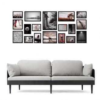18 molduras COM Revelação Fotográfica (170cm x 75cm)