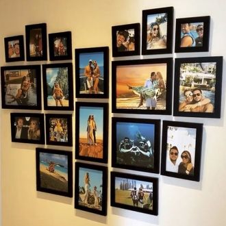19 molduras COM Revelação Fotográfica (150cm x 130cm)