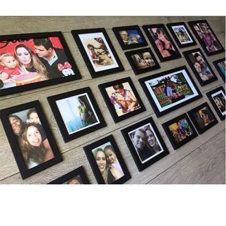 20 molduras COM Revelação Fotográfica  (145cm X 70cm)