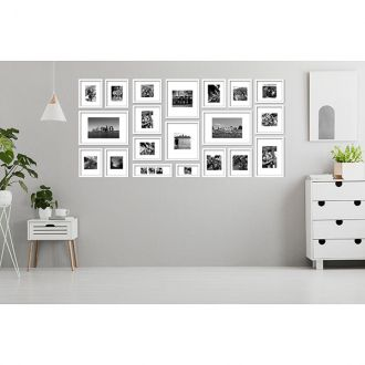 20 molduras  COM Revelação Fotográfica (200cm X 100cm)