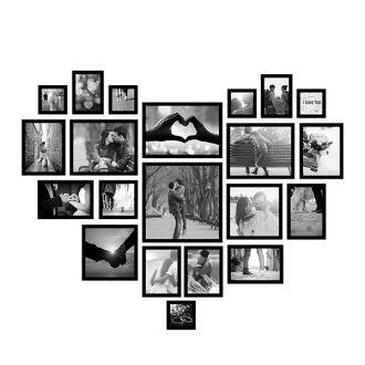 21 molduras COM revelação fotográfica (130cm x 110cm)