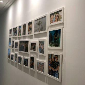 22 molduras COM Revelação Fotográfica (190cm X 70cm)