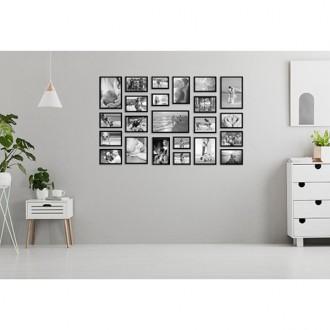 23 molduras COM Revelação Fotográfica (145cm x 90cm)