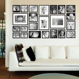 23 molduras COM Revelação Fotográfica (200cm x 105cm)