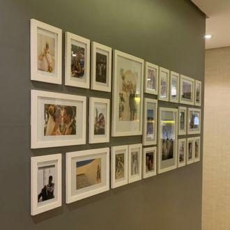 23 molduras COM Revelação Fotográfica (200cm x 70cm)