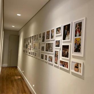41 molduras COM revelação fotográfica (400cm X 70cm)