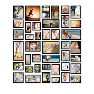42 molduras COM revelações fotográficas  (150cm X 170cm)