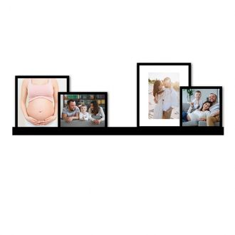 4 molduras COM Revelação Fotográfica (75cm X 28cm)