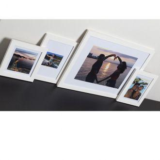 4 molduras COM revelação fotográfica (90cm X 35cm)