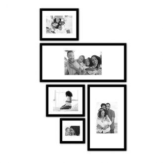5 molduras COM revelação fotográfica (63cm X 120cm)