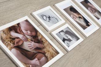 5 Molduras COM Revelação Fotográfica (100cm X 35cm)