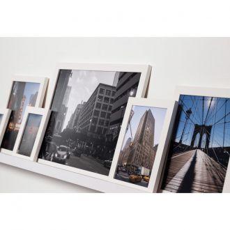 5 molduras COM Revelação Fotográfica (90cm X 35cm)